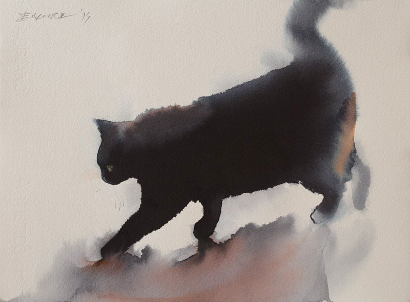 watercolor-cats-by-endre-penovac-6