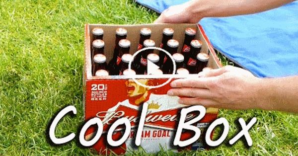 Як охолодити пиво на природі