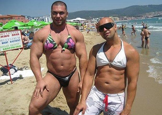 Смішні фото з пляжного відпочинку