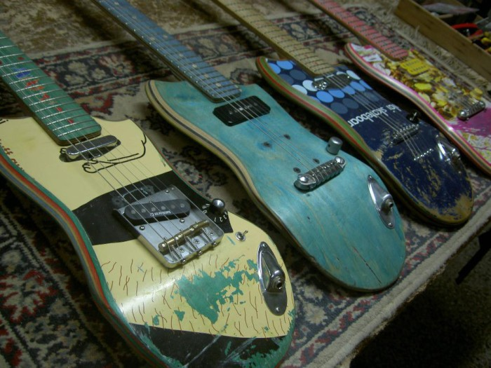 guitars_made_from_recycled_skateboards-700x525