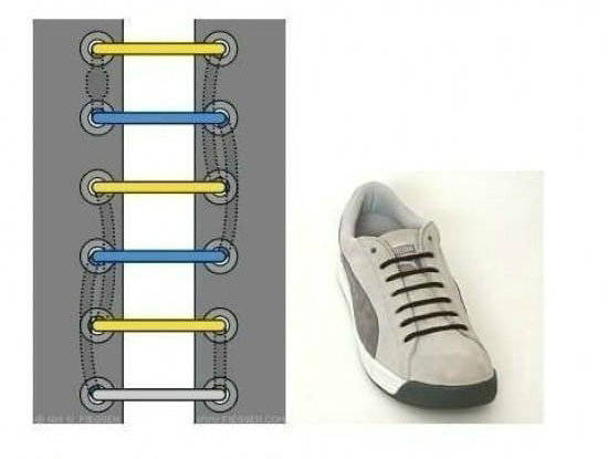 ways_to_tie_shoes_single_lines