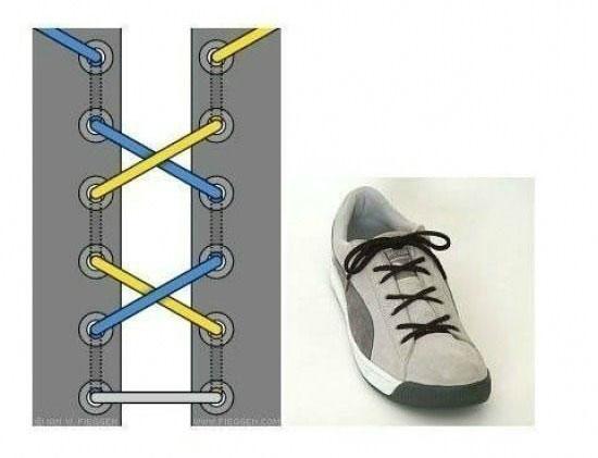 ways_to_tie_shoes_tripple_cross