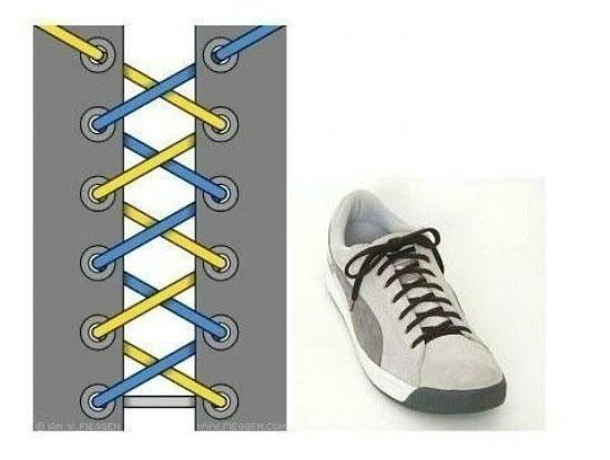 ways_to_tie_shoes_zigzag