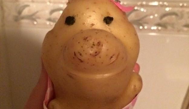 В мережі стала популярна одягнена Картоплина