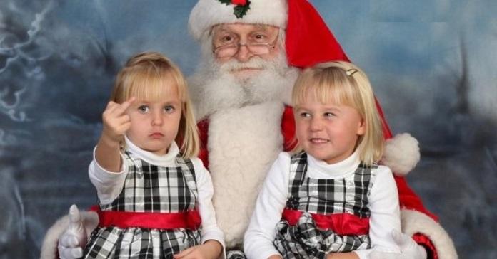 Топ-10 найгірших новорічних фото