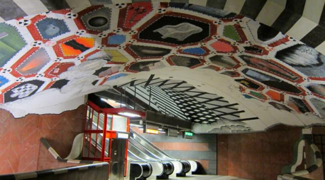 Дивовижне метро Стокгольма
