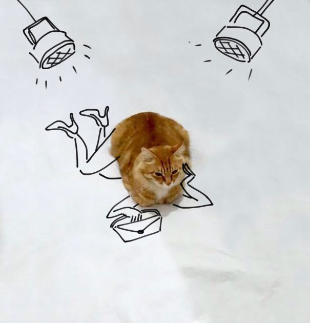Amazing-how-imaginative-people-are-when-it-comes-to-doodling-over-a-cat31