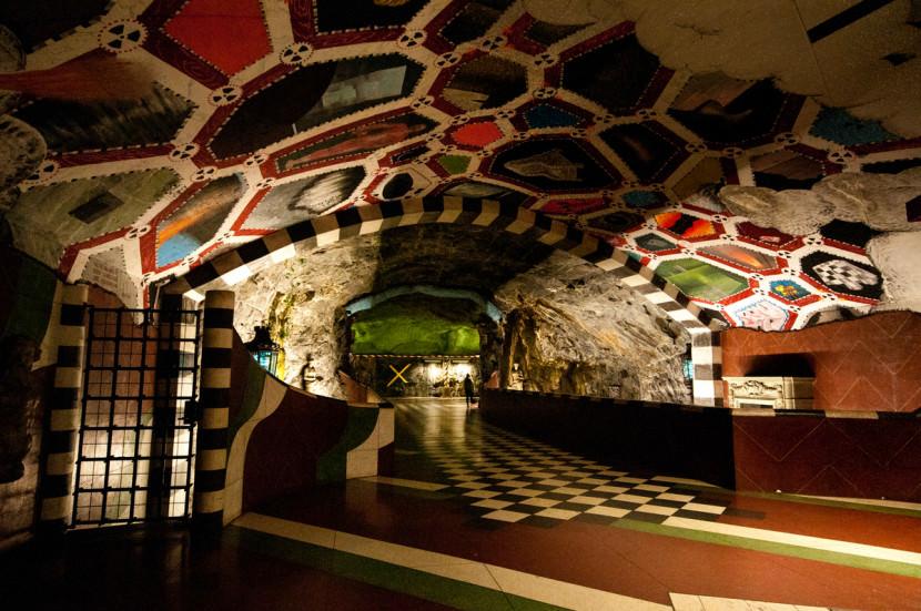 Stockholm Underground Subway Art