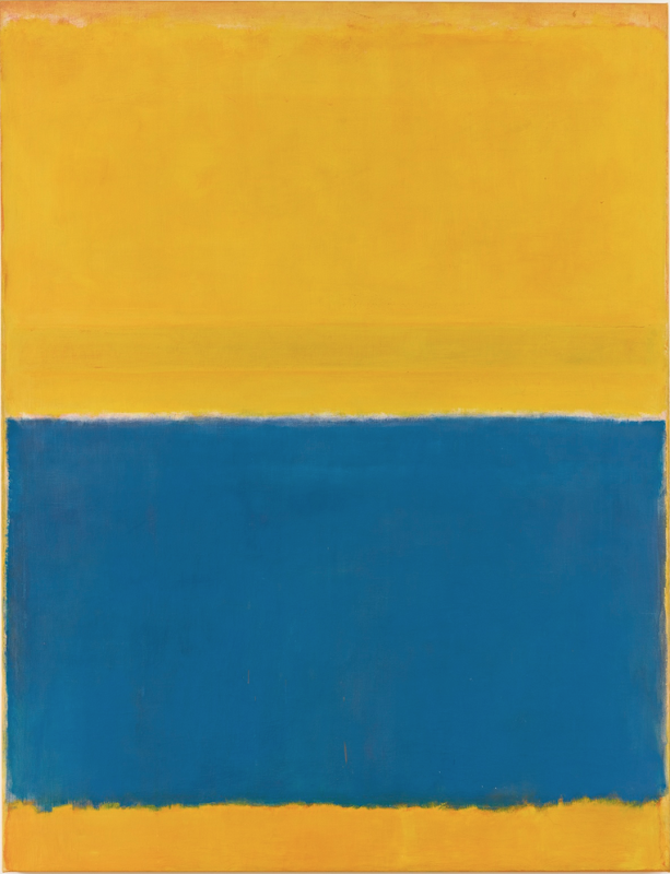 Rothko yellowand blue