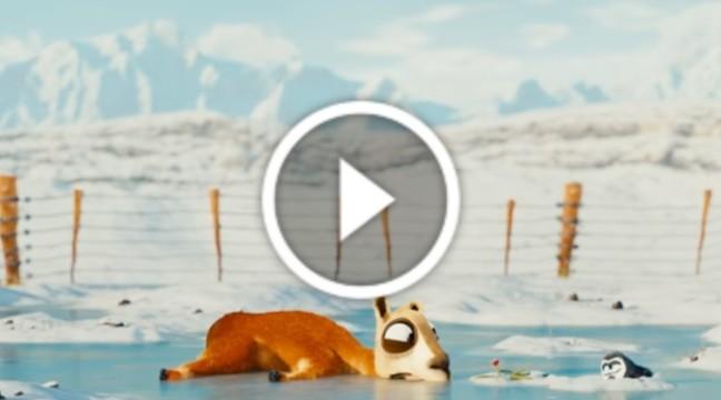 Потішна короткометражка про ламу та пінгвіна