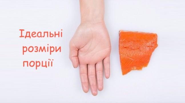Як визначити ідеальну порцію їжі?