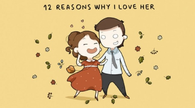 12 причин любити її. Чоловічий список