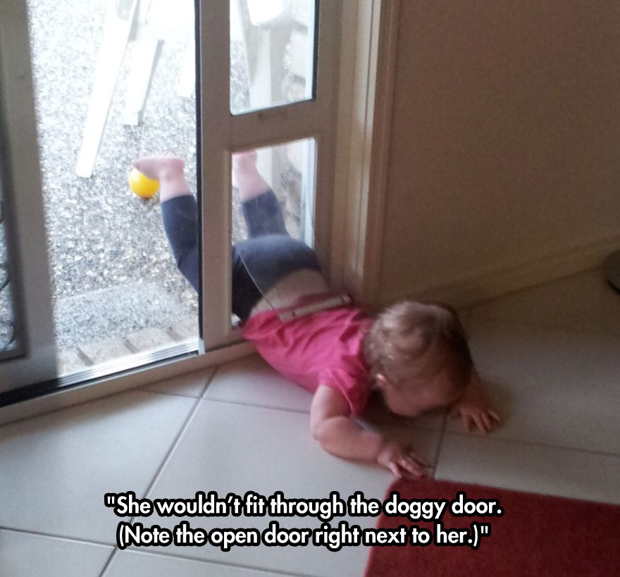 funny-baby-crying-dog-door
