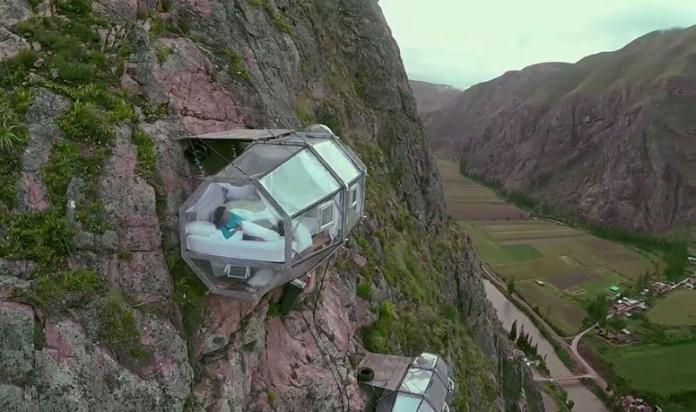 """""""Skylodge""""  – один з найстрахітливіших готелів, які ви будь-коли бачили"""