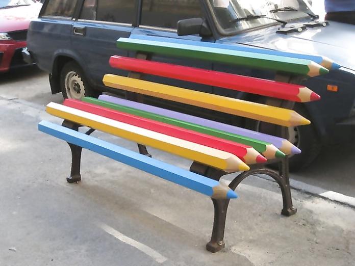 Сядь посидь: 10 оригінальних лавок