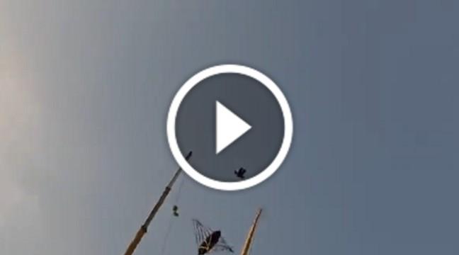 У Дубаї встановили рогатку для запуску людей у небо. Відео