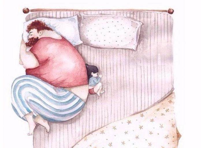 9 ілюстрацій, які показують, як тати насправді ставляться до своїх доньок