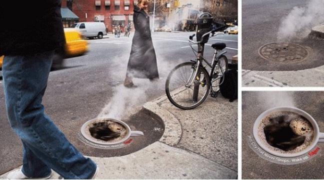 10 прикладів вуличної реклами, яка змусить вас подивитися на неї двічі