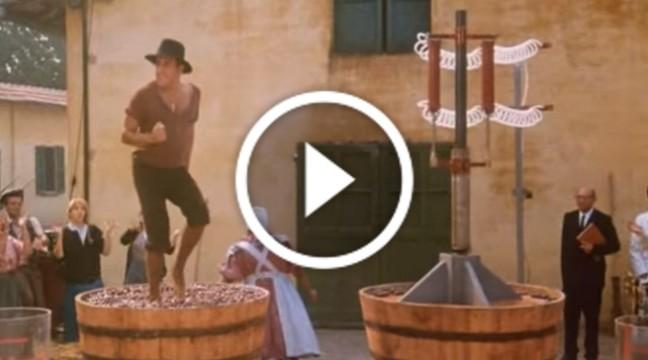 Хвилинка ностальгій. Легендарний танець Адріано Челентано на винограді