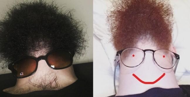 Інтернет підірвав новий веселий флешмоб: Борода знизу