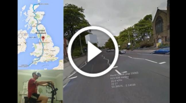 Житель Великобританії місяцями катається рідною країною у віртуальній реальності