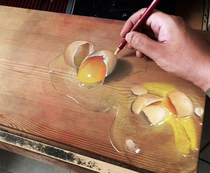 Художник-самоучка створює гіперреалістичні картини на дереві