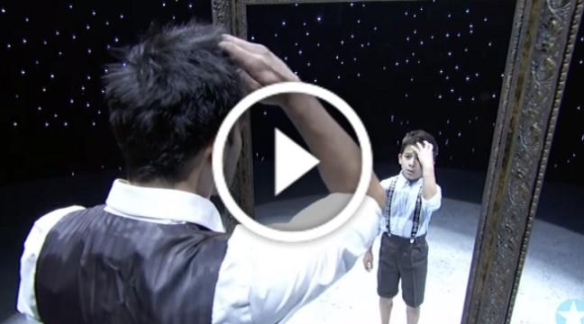 """Прекрасна творча постановка – танець """"дзеркало"""""""