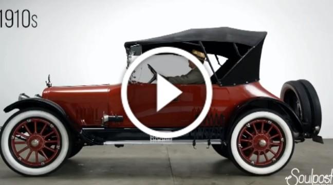 Еволюція автомобілів за 100 років