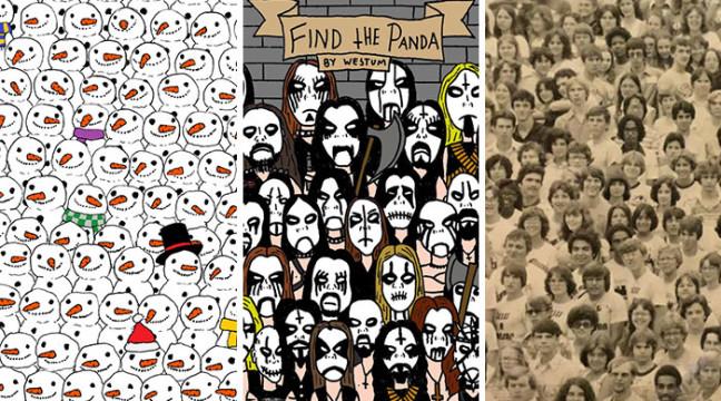 Хто швидше знайде усіх панд?
