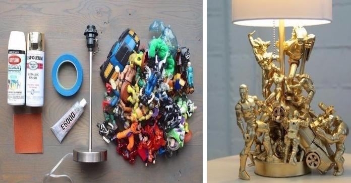 Чоловікові було шкода викидати старі іграшки, і дивіться, що він зробив з них!