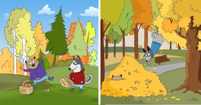 10 причин любити осінь від ілюстратора Bird Born