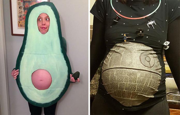 Шалені костюми на Хеловін від вагітних жінок