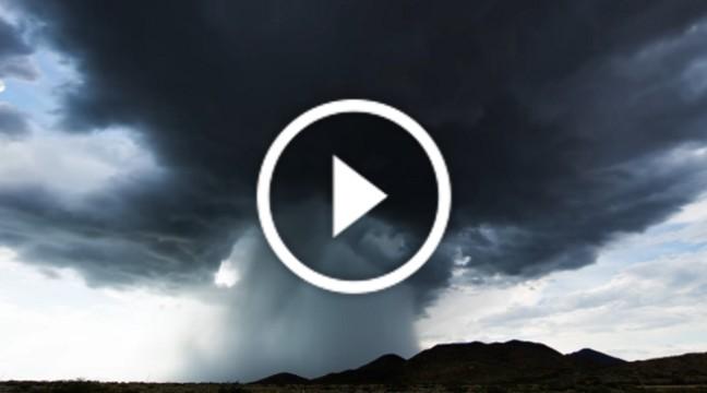 Відео, в якому змогли показати всю могутність природи