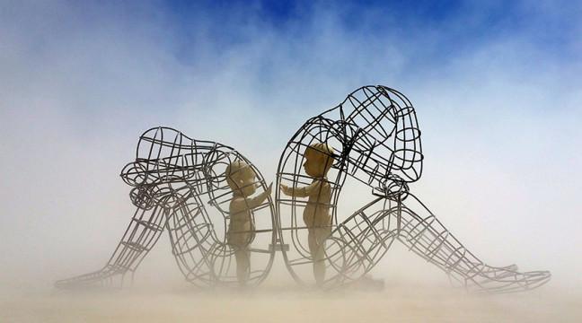 В Одесі встановлять відому українську скульптуру з Burning Man