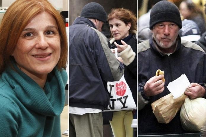 Туристка віддала безхатькові свою піцу. Але уявити не могла, ким виявиться волоцюга