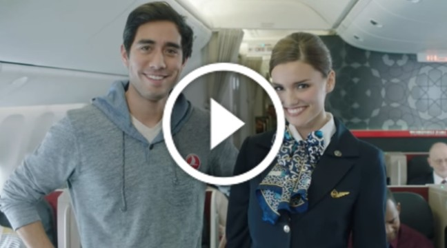 Геній відеомонтажу Зак Кінг показав свою магію в рекламі авіакомпанії Turkish Airlines