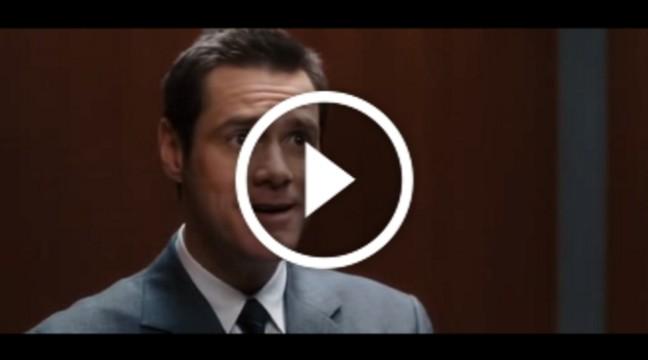 """Джим Керрі cпіває в ліфті """"I believe I can fly"""""""