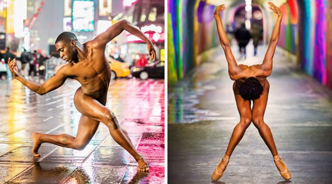 Танцюристи роздяглися для приголомшливої фотосесії в Нью-Йорку (18+)
