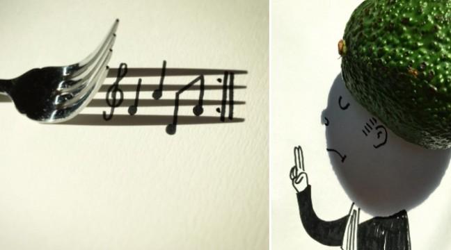Бельгієць знаходить цікаві тіні і перетворює їх у круті ілюстрації