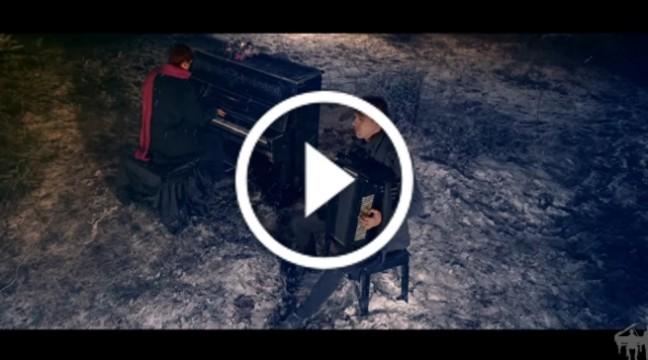 """""""Щедрик"""" у міксі з твором А. Вівальді """"Зима"""" від молодого українського дуету Double Blast"""