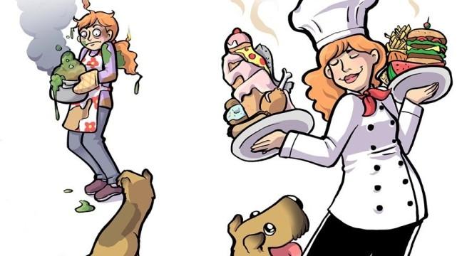 Кумедні ілюстрації про те, якими нас бачать наші собаки