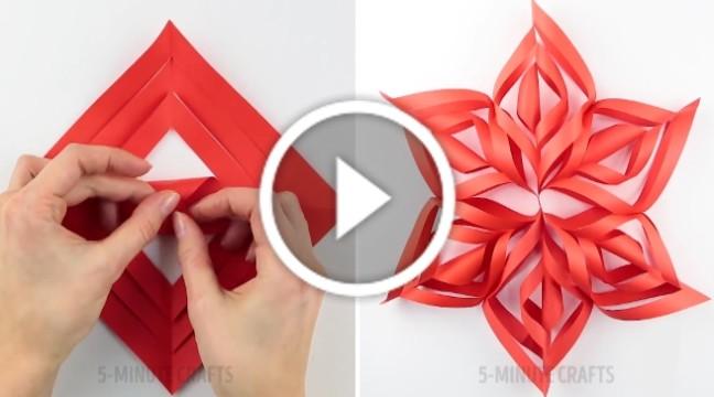 Робимо новорічні гірлянди своїми руками (відео-інструкція)