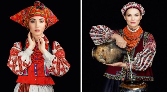 Українські зірки знялися для календаря у красивому народному вбранні