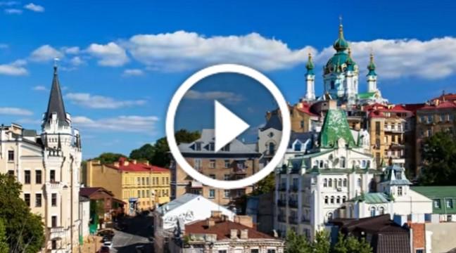 Білоруський фотограф зняв дивовижне таймплас-відео про Україну