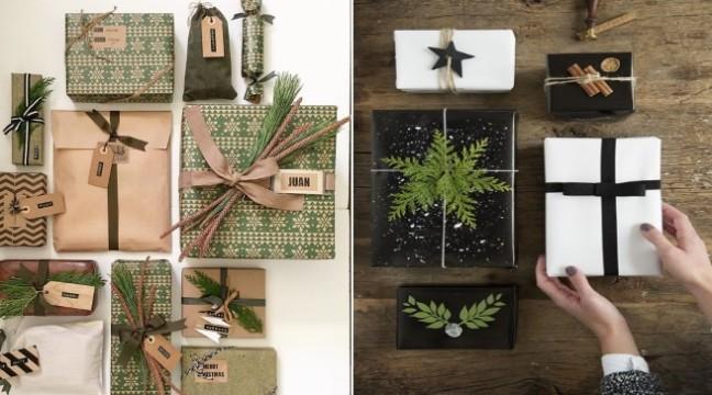 Як гарно упакувати новорічні подарунки (30 ідей)