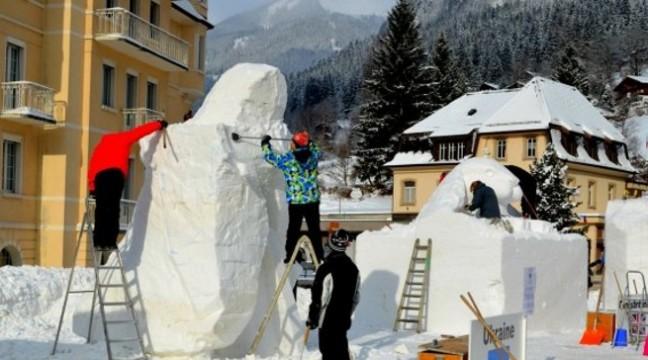 Українці перемогли на фестивалі снігової скульптури у Швейцарії