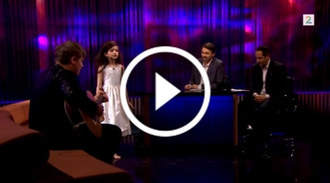 Дивовижний кавер на пісню Френка Сінатри від 7-річної дівчинки