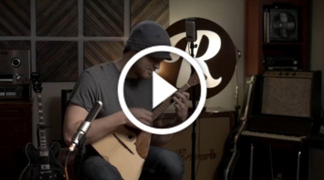 Балалайка в руках гітариста-віртуоза
