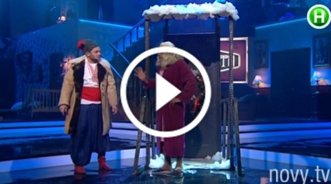 """Типова ніч перед Різдвом в українському селі. Гумор-шоу """"Вар'яти"""""""