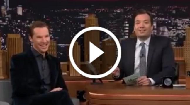 """Зірка серіалу """"Шерлок"""" зіграв гру у відомому комедійному шоу. Це шедевр!"""